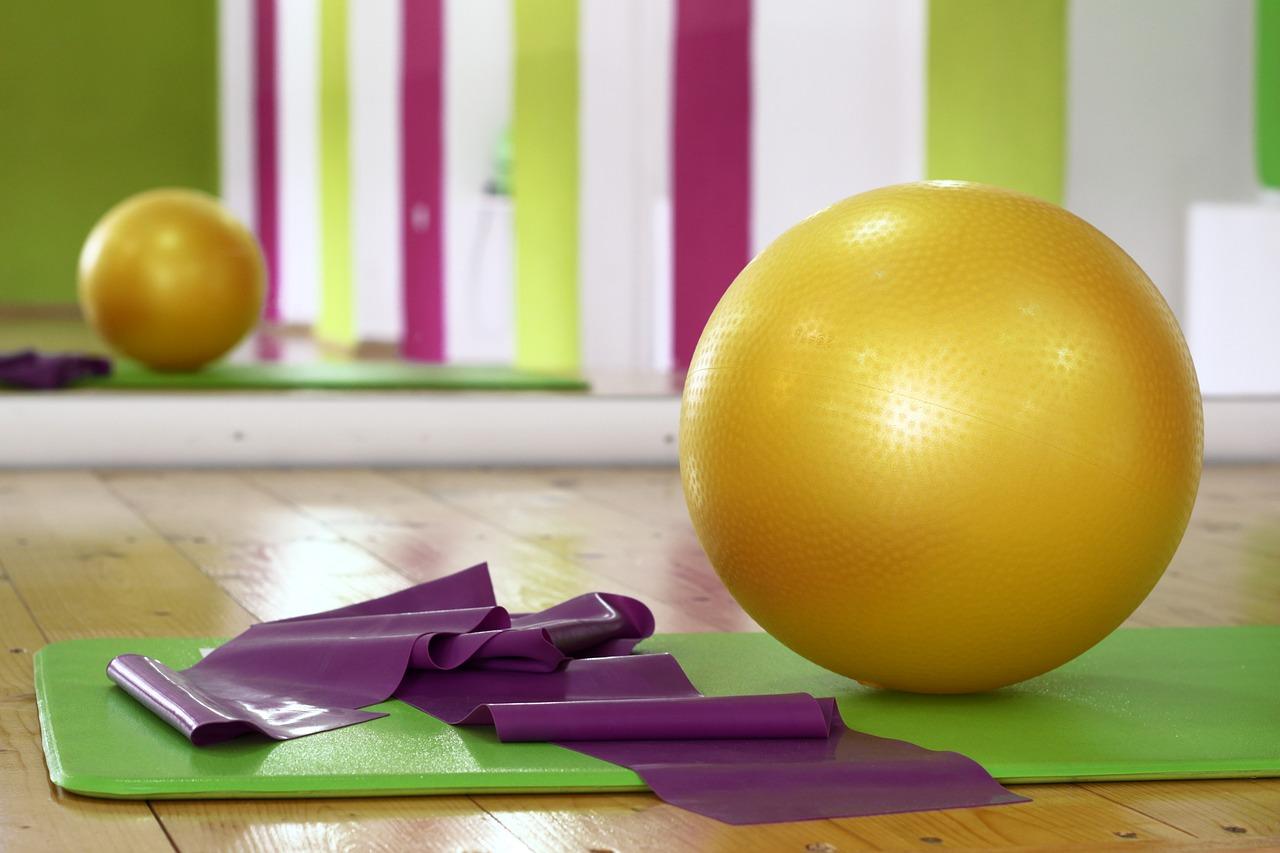 Geräte für Pilates - Mehr Fitness mit dem Pilates Ball