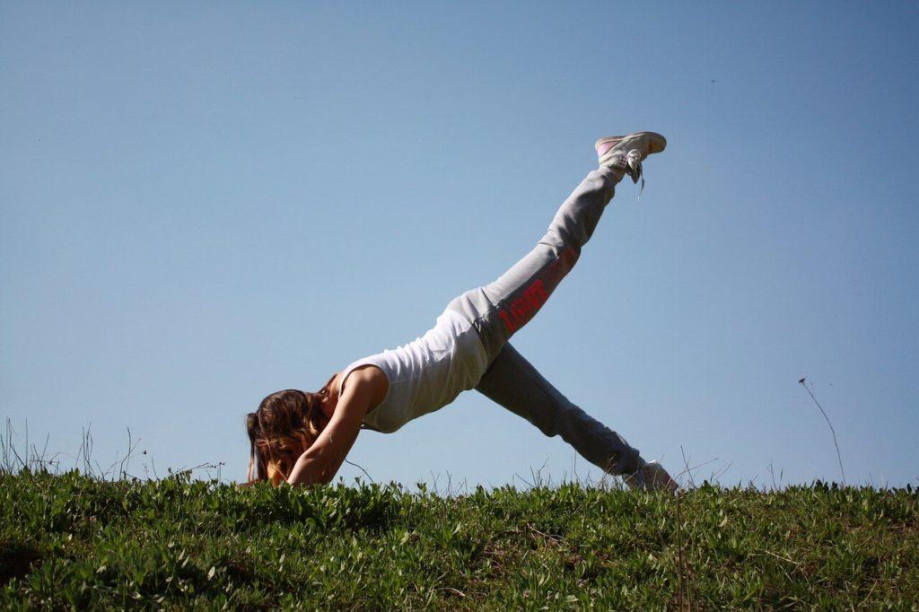 Pilates Übungen für den Rücken  auf Reisen